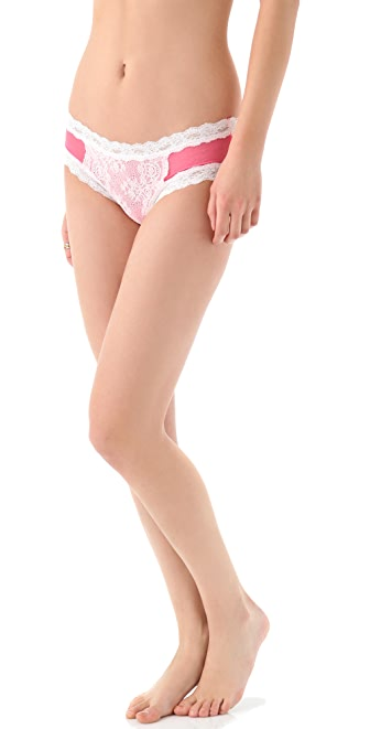 Hanky Panky Sheer Enchantment Cheeky Hipster