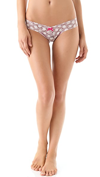 Hanky Panky Grand Dot Low Rise Thong