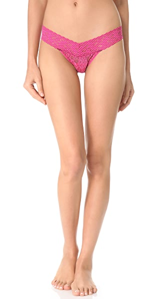 Hanky Panky Fishnet Low Rise Thong