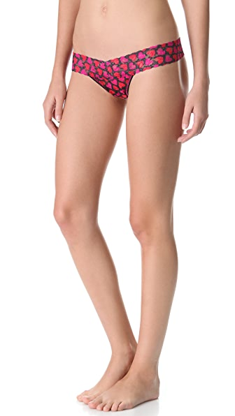 Hanky Panky Hearts Low Rise Thong