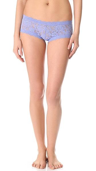 Hanky Panky Signature Lace Boy Shorts