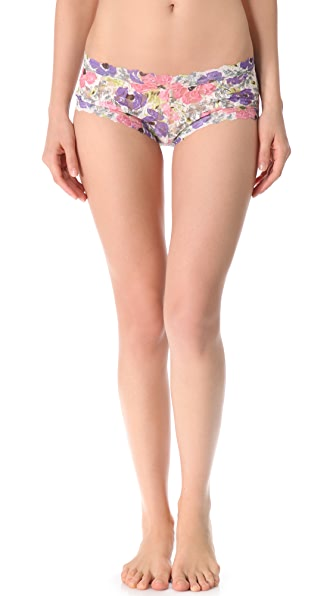 Hanky Panky Poppies Boy Shorts