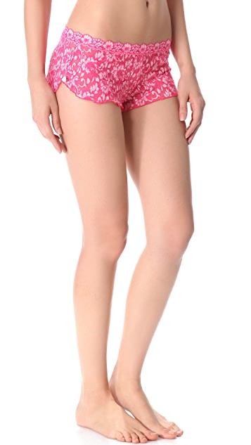 Hanky Panky Cross Dyed Signature Lace Sleep Set