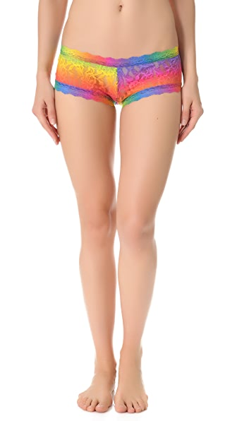 Hanky Panky Acid Rainbow Boy Shorts