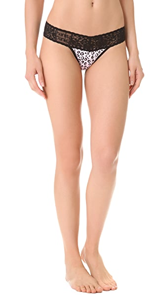 Hanky Panky Pink Kitten Low Rise Thong