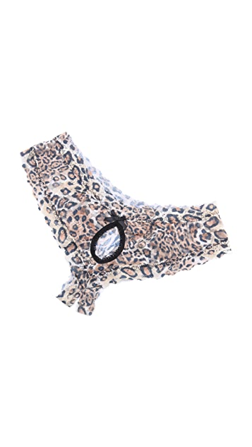Hanky Panky After Midnight Leopard Nouveau Open Hipster