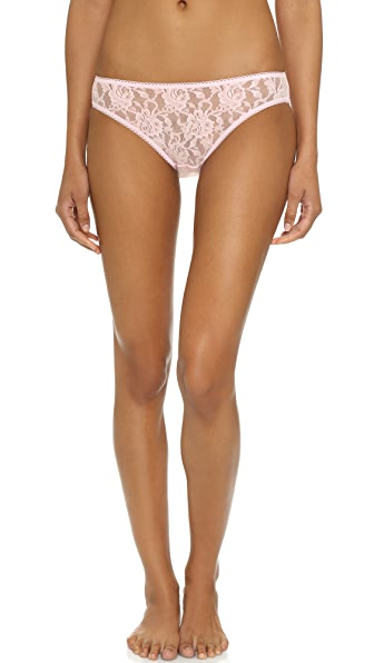 Hanky Panky Signature Lace Bikini Briefs - Bliss Pink