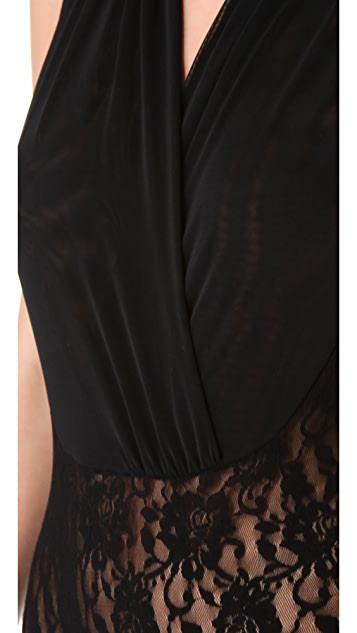 Hanky Panky Signature Lace Draped Bodysuit