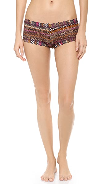 Hanky Panky Neutral Zoe Boy Shorts