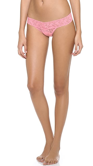Hanky Panky Signature Lace Petite Low Rise Thong