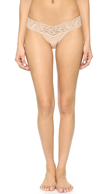 Hanky Panky Cotton with a Conscience Petite Low Rise Thong