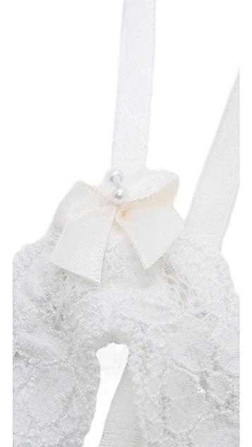 Hanky Panky Honeymoon Princess Open Bralette