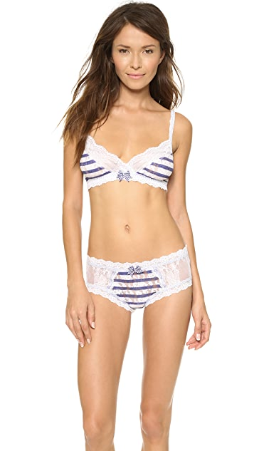 Hanky Panky Sailor Stripe Cheeky Hipster