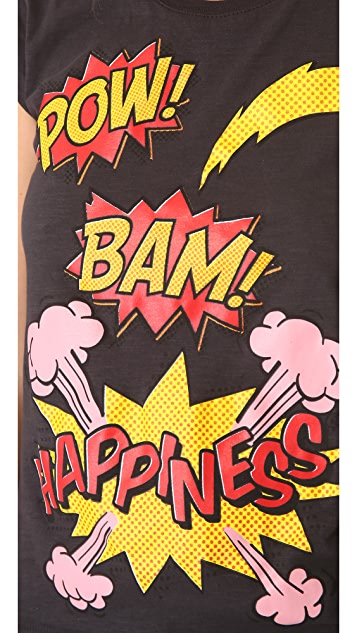 Happiness Boom Boom Pow! Tee
