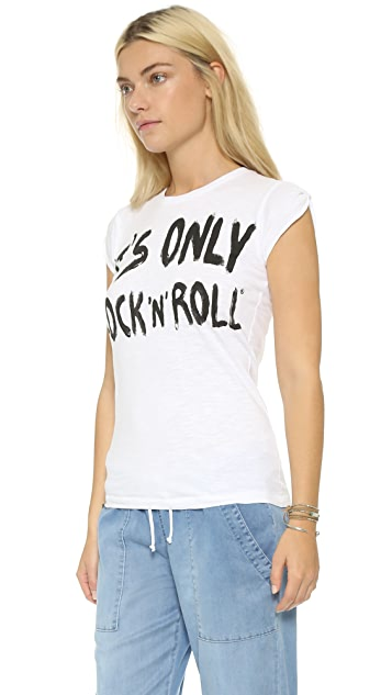 Happiness Only Rock N Roll Tee