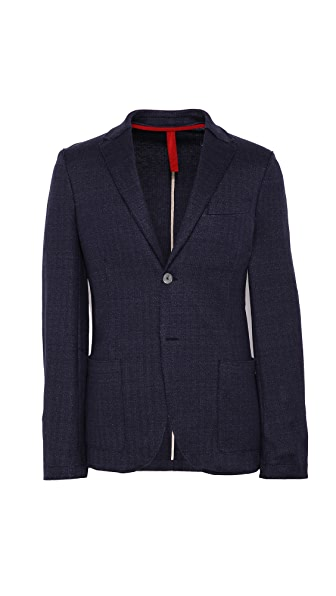 Harris Wharf London Herringbone Blazer