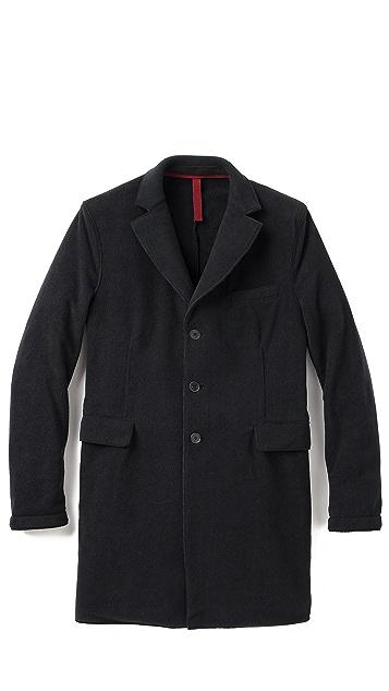 Harris Wharf London Fleece Overcoat
