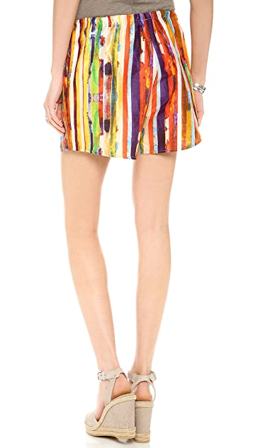 Harvey Faircloth Print Summer Shorts
