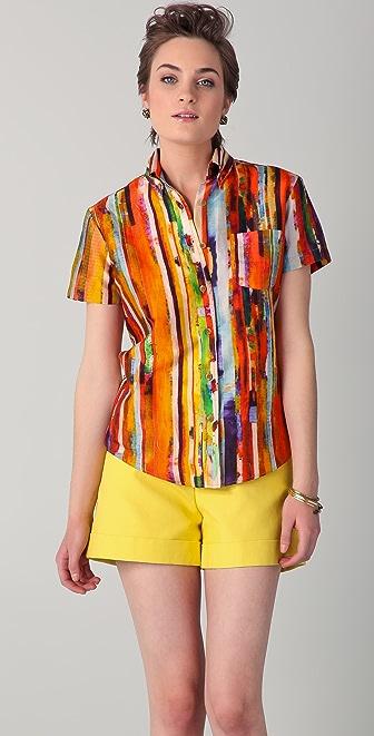 Harvey Faircloth Beacon Club Collared Shirt