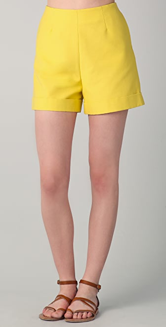 Harvey Faircloth Cuffed Shorts