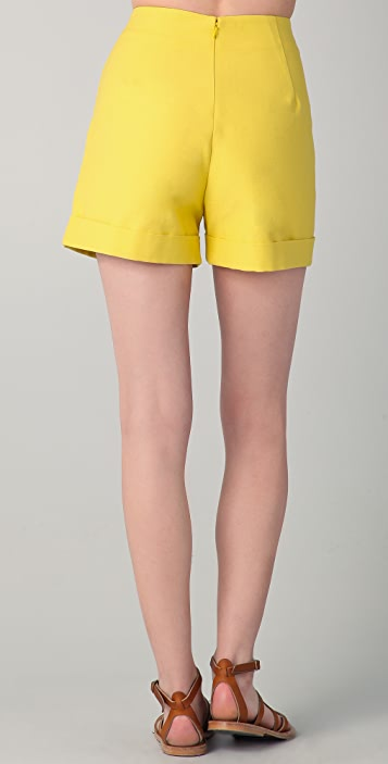 Harvey Faircloth Cuffed Shorts