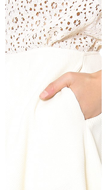 Harvey Faircloth Waffle Couture Skirt