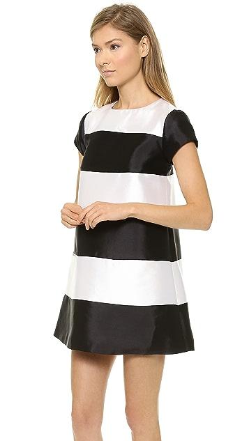 Harvey Faircloth Panel A Line Dress