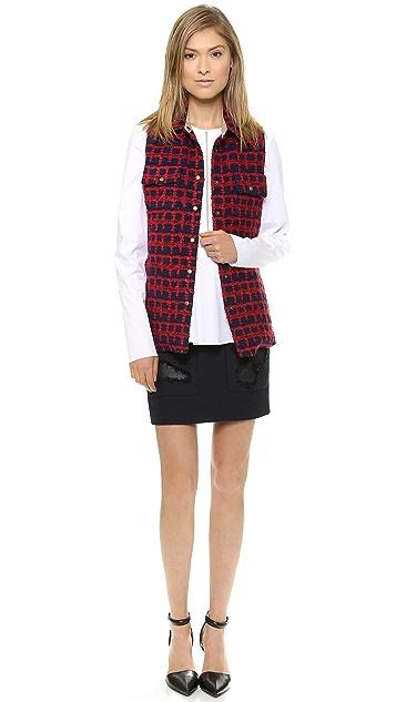 Harvey Faircloth Shirt Jacket Vest