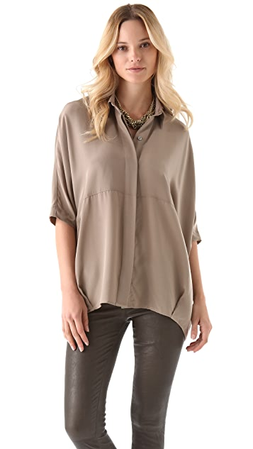 HATCH The Button Down Blouse