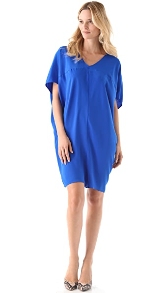 HATCH Short Silk Slouch Dress