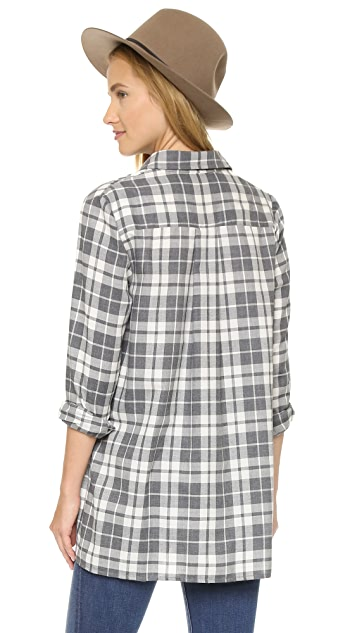 HATCH The Flannel Blouse