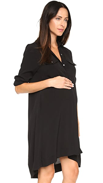 HATCH The Shirtdress - Black