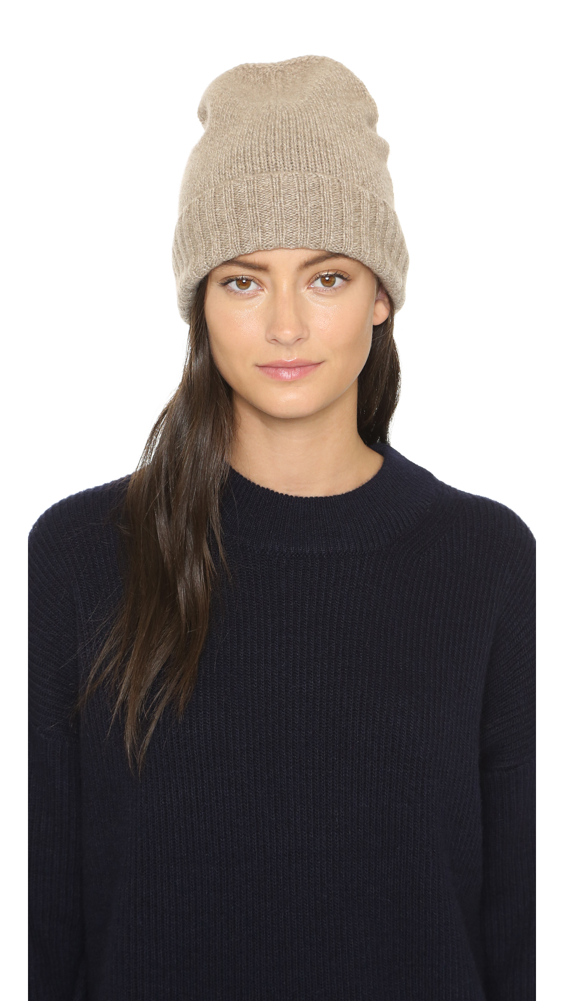 a2d19ccd9d Hat Attack Cashmere Slouchy   Cuff Hat