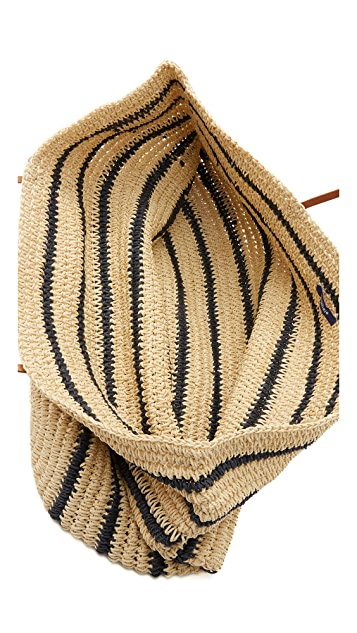 Hat Attack Twisted Stripe Tote