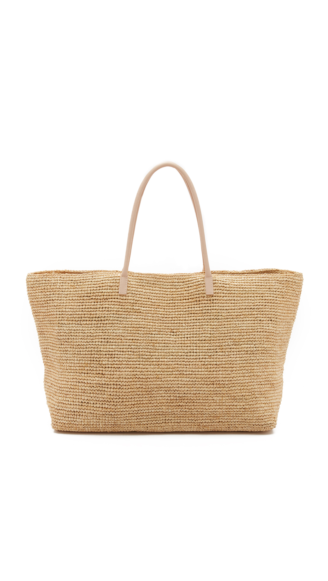 hat attack female  hat attack luxe tote natural