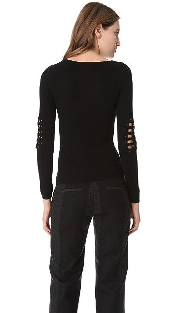 HAUS ALKIRE Menace Cage Sweater
