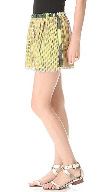 HAUS ALKIRE Clipsie Leather Shorts