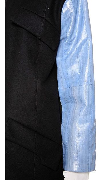 HAUS ALKIRE Baldur Cashmere Trench Coat