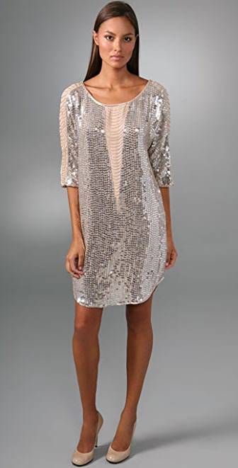 Haute Hippie Illusion Fringe Sequin Dress | 15% off first app ...