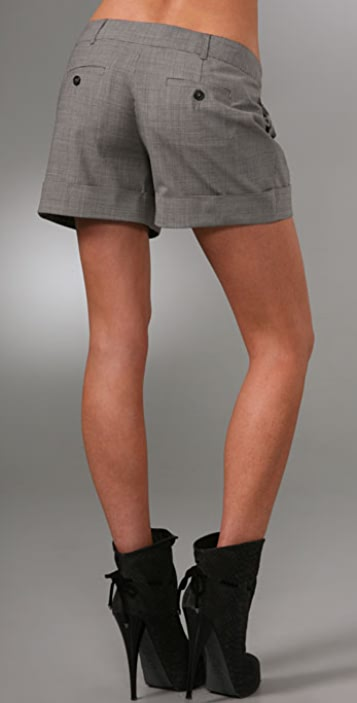 Haute Hippie Peter Pleater Shorts