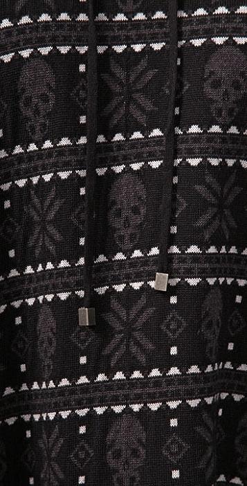 Haute Hippie Skull Poncho