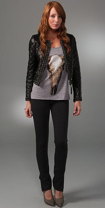 Haute Hippie Quilted Jacket
