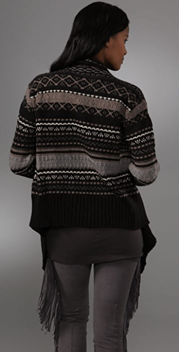 Haute Hippie Fair Isle Sweater