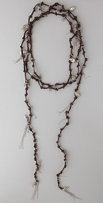 Haute Hippie Skull Necklace