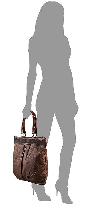 Haute Hippie Leather Messenger Bag