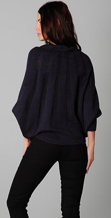 Haute Hippie Reverse Cowl Sweater