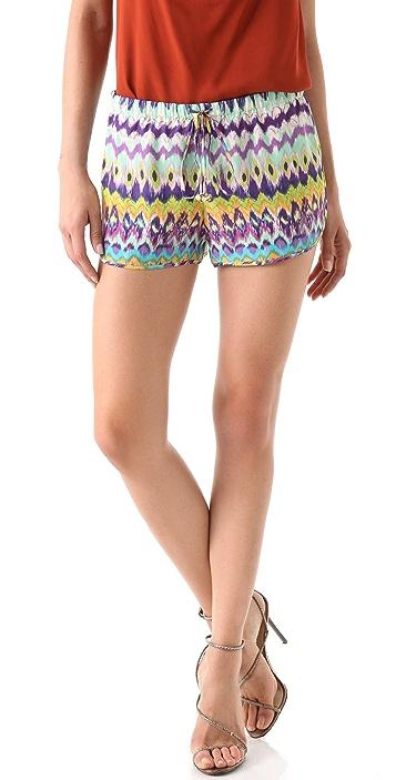 Haute Hippie Drawstring Shorts
