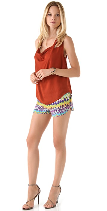Haute Hippie Drawstring Shorts