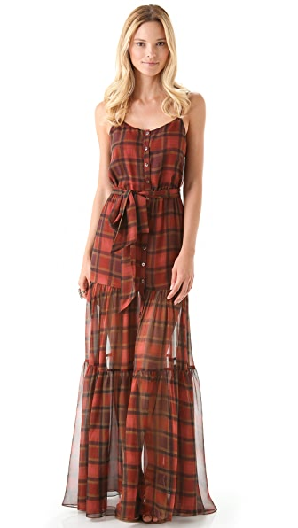 Haute Hippie Country Roads Maxi Dress
