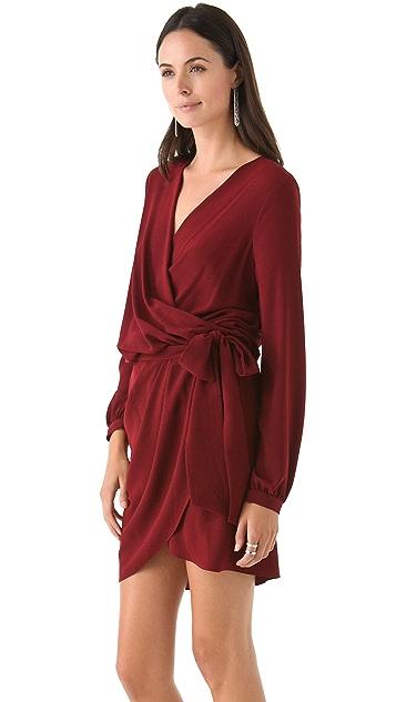 Haute Hippie Long Sleeve Dress